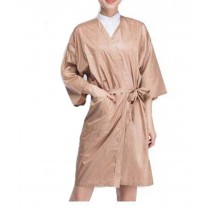 Salon Client Gown Upscale Robes Beauty Salon Smock for Clients, Color Point