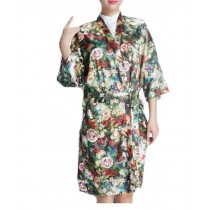 Salon Client Gown Upscale Robes Hairdressing Gown for Clients, Flower