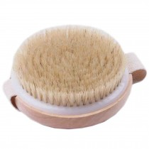 Bristle Bath Brush Without Handle Massage Body Brush Circular Bath Brush