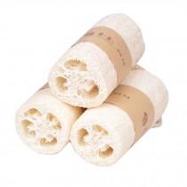 Set of 3 Natural Scrubber Bath Sponge Shower Bath Loofah Sponge
