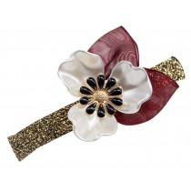 Bow Hair Ornaments Headdress  Silk Yarn  Hairpin Clips Hair Pins, 2 Pcs