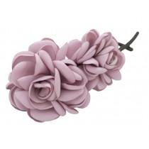 Twist Clip Banana Clip Hair Ornaments Vertical Hairpin,Light Purple