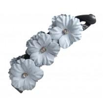 Flower Hair Clips Twisted Clip Banana Clip Twist Clip Horsetail Hairpin,2 Pcs