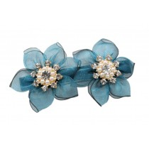 Set Of 2 Spring clip Handmade Hair Ornaments Hairpin Twist Clip Hair Clips