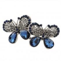 Classical Hair Barrettes Beautiful Hair Ornaments Butterfly Hair Clip for Women