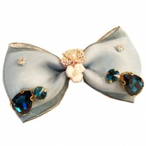 Elegant Blue Bow Lovely Hair Claw Fashion Hair Clip Creative Claw/Hairpin