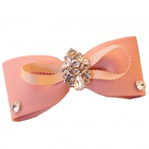 Pink Cute Bow Hair Claw Fashion Hair Clip Beautiful Creative Hair Claw/Hairpin