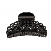 Large Hair Claw Black Claw Clip
