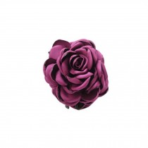 Fashion Verisimilitude ROSE Jaw Clip Hair Styling Claws, 3.1 inches, PURPLE