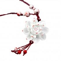 National Wind Jewelry Necklace Send Girlfriend Handmade Ceramic Necklace