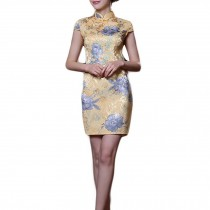 Cocktail Dress Short Cheongsam Evening Dress Chinese Traditional Dress Cocktail