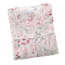 [Flower] Cotton Maternity Pajamas Set Nightwear Breastfeeding Pajamas