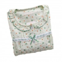 [Green Elephant] Cotton Maternity Pajamas Set Nightwear Breastfeeding Pajamas
