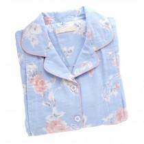 [Blue Rose] Cotton Maternity Pajamas Set Nightwear Breastfeeding Pajamas