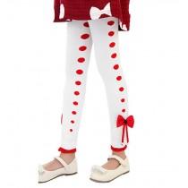 """WHITE Spring Autumn Girls Leggings Pants, Height 90-100cm/35-39"""""""