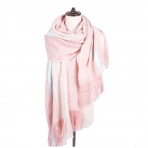 Blanket Scarf/Cozy Large Size Scarf/Winter Warm Wool Shawl/Fashion Lovers Scarf