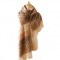 Comfortable Winter Warm Tartan Scarf/Knitted Woolen Scarf/Super Soft Wrap Shawl