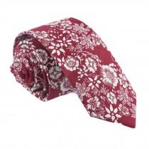 Daily/Party/Wedding/Business Red Neckties Men Cotton Neckties Skinny Necktie 6cm