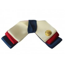 Professional Neckties for Women Three Colors Style Ties(Golden Button)