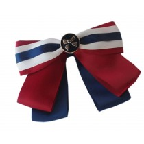Professional Neckties for Women Three Colors Style Ties(Multicolor Bowknot)