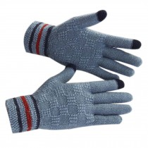 Men's Gloves/Knitted Woolen Gloves/Outdoor Cycling Gloves/Wonderful Gift/BLUE