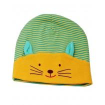 Adorable Yellow Cat Baby Beanie Cap