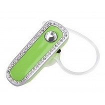 Mini 3.0 Bluetooth Headset Women Specialized Diamond Bluetooth Headset GREEN