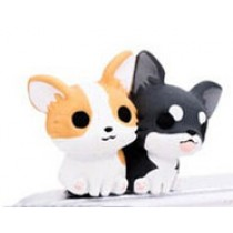 2 Pcs 3.5mm Cell Phone Universal Dust Plug Cell Accessories Dog Style B