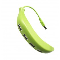 High-Speed USB 2.0 4-Port USB Hub Creative Banana USB HUB
