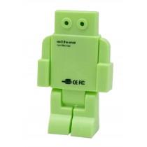 Creative Robot USB HUB 4-Port Computer USB Hubs 1 Pcs (Random Color)