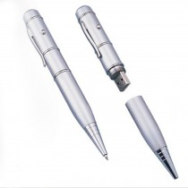 Economic 8GB USB Flash Driver USB 2.0 U-Disk with Utility Business Pen