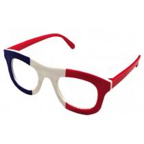French Flag Eyeglasses Kids Party Decoration Glasses Frame