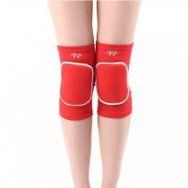 Kids Knee Brace Sleeve for Sports, Yoga, Dance, Arthritis, Joint Pain, Red(S)
