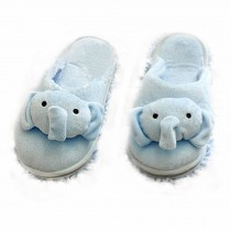Lovely Animal Microfiber (Women) Magic Cleaning Slippers-Elephant