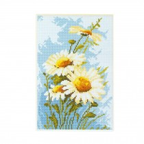 PANDA SUPERSTORE [Lovely Daisy] DIY Cross-Stitch 11CT Embroidery Kits Art Craft (7.5*11.4'')