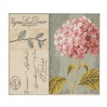 PANDA SUPERSTORE [Beautiful Flower] DIY Cross-Stitch 11 CT Embroidery Kits Room Decor(13.3*9.4'')