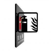 [FIRE EXTINGUISHER] Doorplate Decorative Sign Office Signpost Department Sign