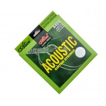 Pro Guitar Strings Steel Core Acoustic Guitar Strings, One Set, Light