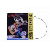 Set of 6 Single Acoustic Guitar Strings, B-2nd Stainless Steel Strings