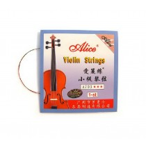 4/4 Violin Strings Set, Includes G, D, A & E, Medium Gauge