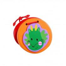 2Pcs Funny Chirldren Toys Dragon Wooden Finger Castanet