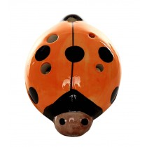 Musical Instrument Ocarina for Child/Beetle Ocarina, 6 Holes/Orange