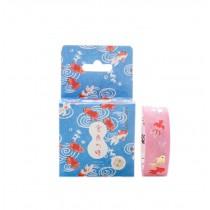 Set of 3 Rolls Goldfish Decorative Tape Scrapbooking Paper Sticker