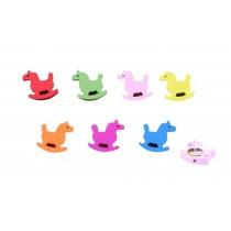 Creative Office Item/Lovely Cockhorse Series Pushpins/50 Piece/Random Color
