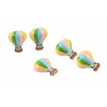 Creative Office Item/Lovely Fire Balloon Series Pushpins/10 Piece