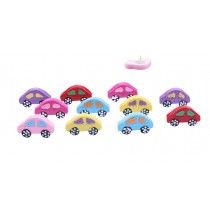 Creative Office Item/Lovely Car Series Pushpins/10 Piece/Random Color
