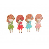 Creative Office Item/Lovely Girl Series Pushpins/20 Piece/Random Style