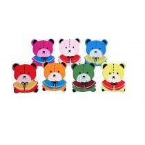 Creative Office Item/Cartoon Bear Series Pushpins/30 Piece/Random Style