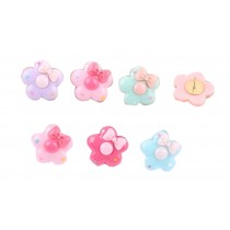 Flower Design Pushpins Drawing Pin 10 Pcs for shcool or office