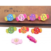 Candy Pushpins Drawing Pin 50 Pcs for shcool or office